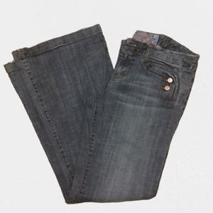 American Rag Cie High rise flare Jeans size 9